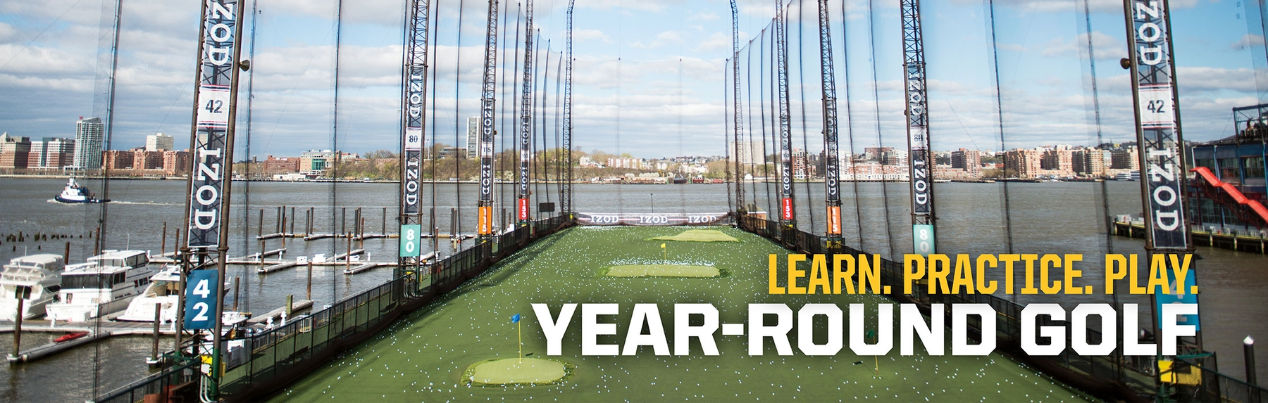 Learn Practice Play The Golf Club At Chelsea Piers