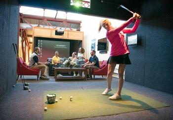 Full Swing Simulators The Golf Club At Chelsea Piers