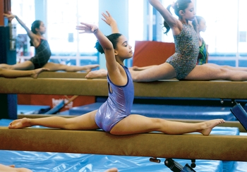 Chelsea Piers Hosts Third Annual Winter Challenge Gymnastics Meet