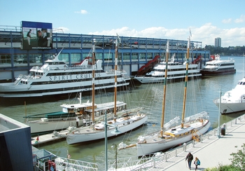 The Chelsea Piers Maritime Center offers numerous ways for visitors to  enjoy the Hudson River. Take a harbor dining cruise aboard Spirit Cruises  or Bateaux ... 8e62baaeb2332