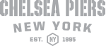 Chelsea Piers New York. Est. 1995 logo